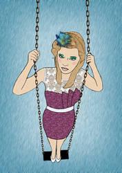 Swingin' in the Rain by Bellatree