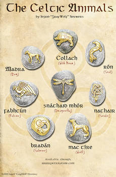 The Celtic Animals by Illahie