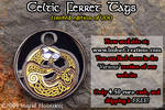 Celtic Ferret Tag