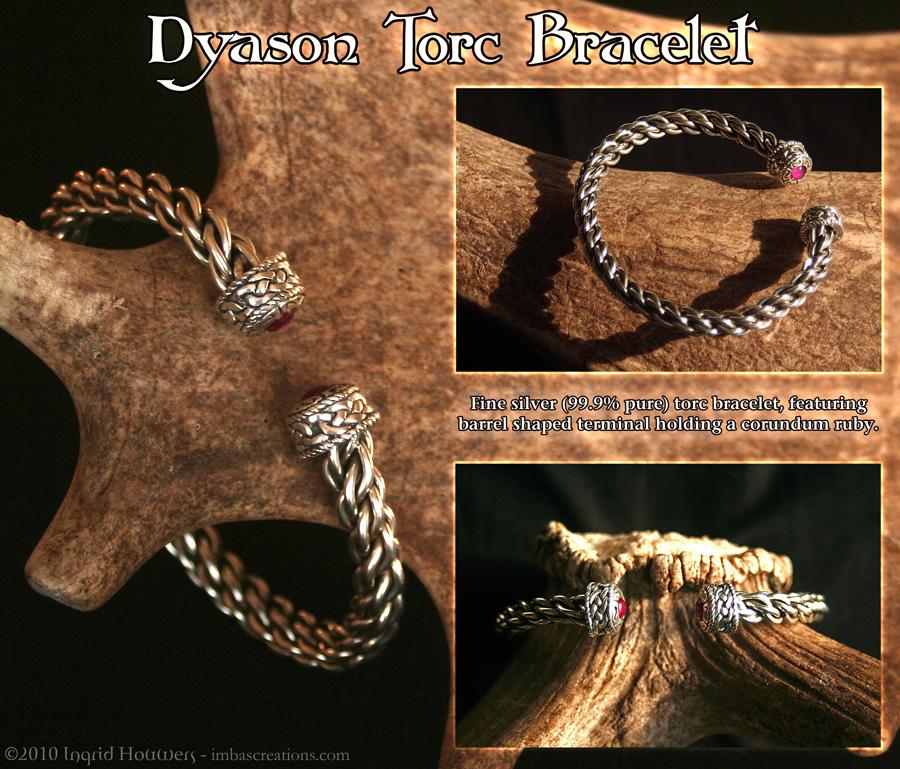 Dyason Torc Bracelet by Illahie