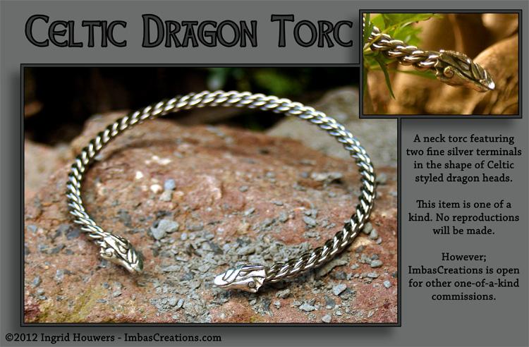 Dragon Torc by Illahie