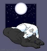 Astraea - Midnight cuddle up by Illahie