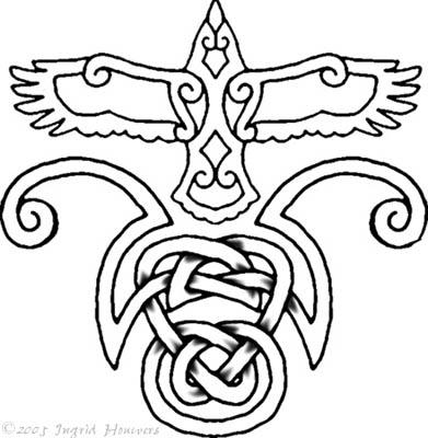 tattoo of skull celtic love knot tattoo designs