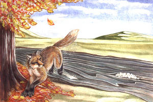 How fox got rid of his fleas by Illahie