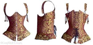 Arikla's wedding corset by Illahie