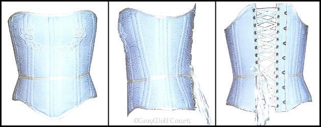 Geer's wedding corset by Illahie