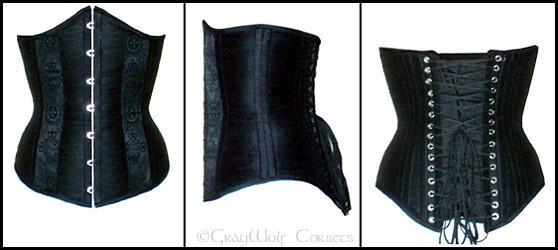 Dana's corset by Illahie