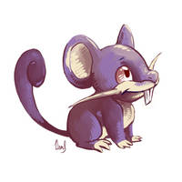 Rattata by Silverkiwi78