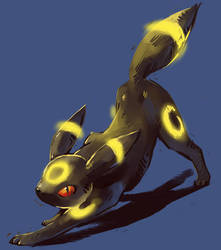Umbreon by Silverkiwi78