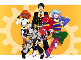 metrocon mascots
