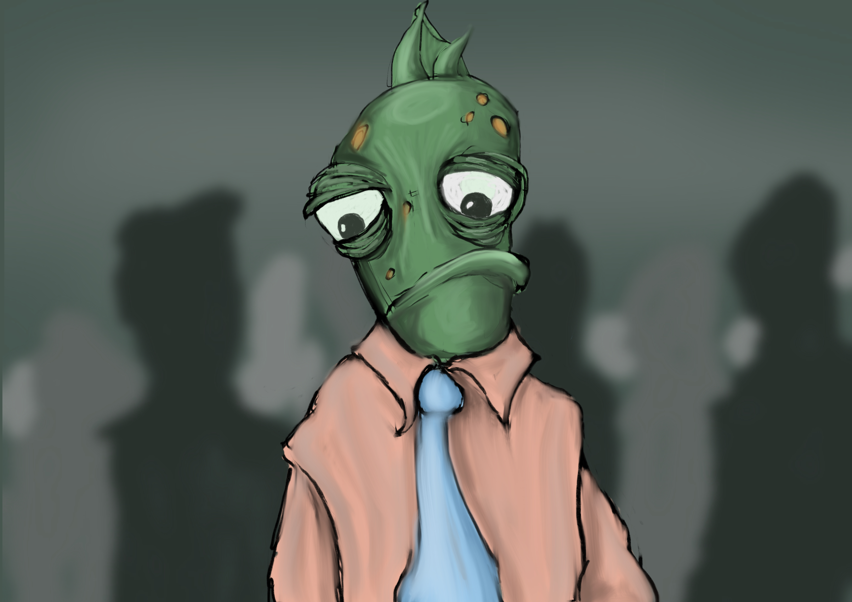 Business fish by dontforgettheeye