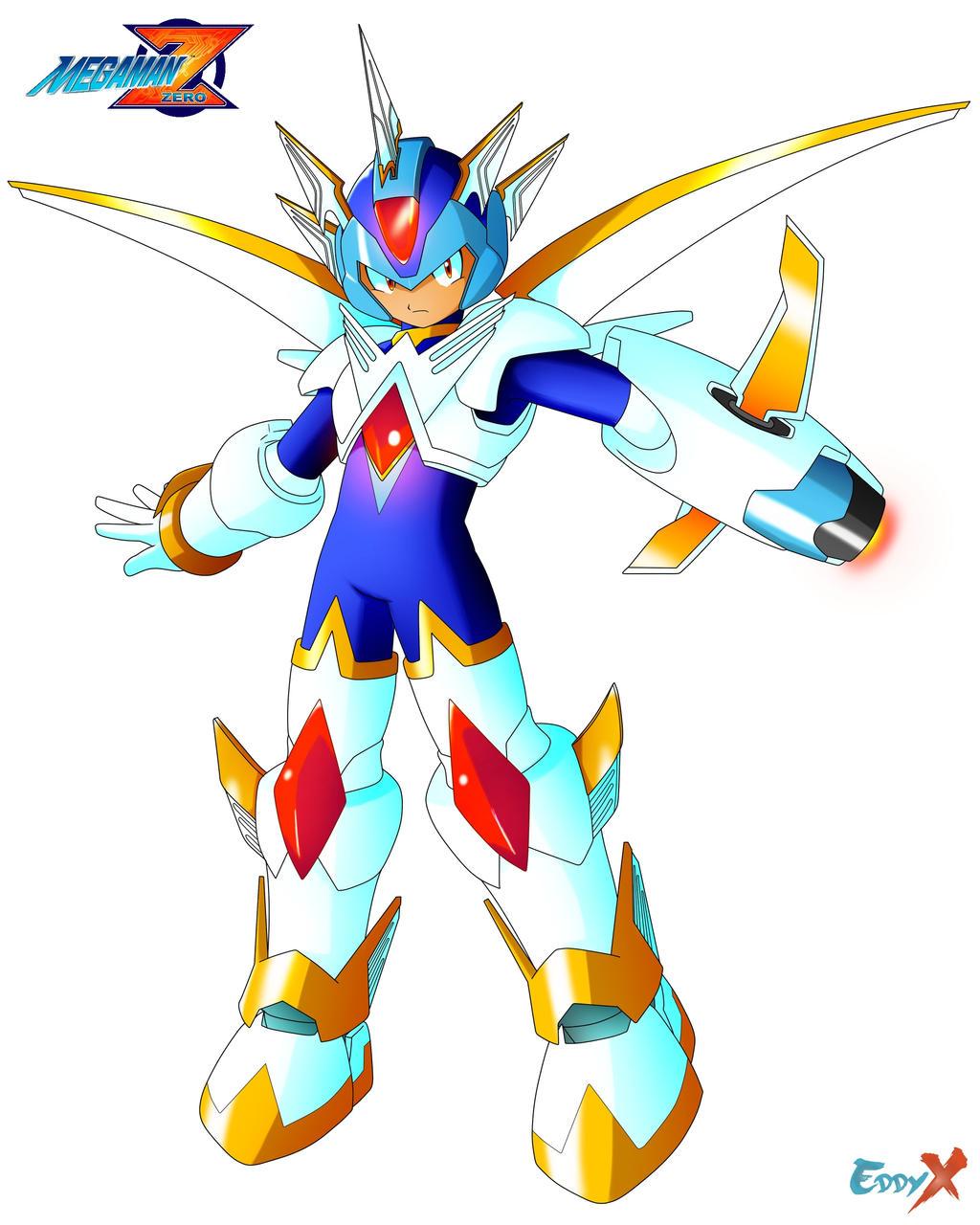 Megaman Zero Copy X 2 Form By Ieddy Xi On Deviantart
