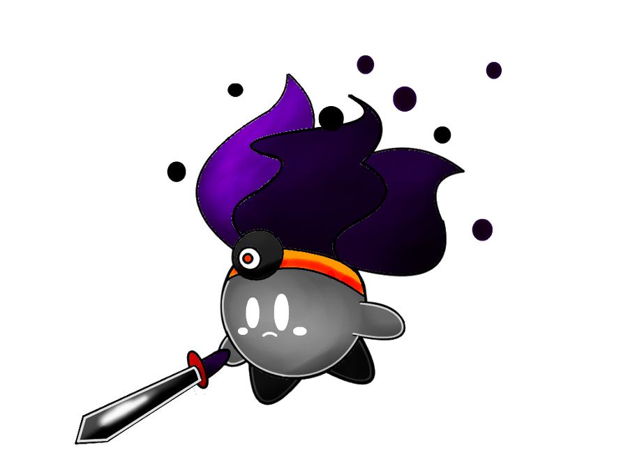 Dark Matter Kirby by SteveO126 on DeviantArt