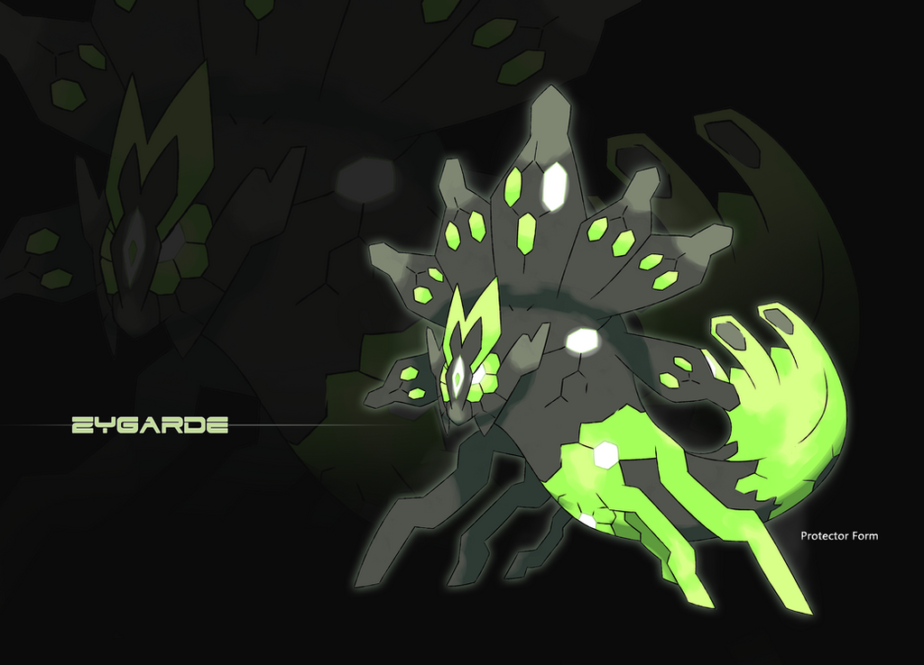 Zygarde protector form by steveo126 on deviantart for Where can i find wallpaper