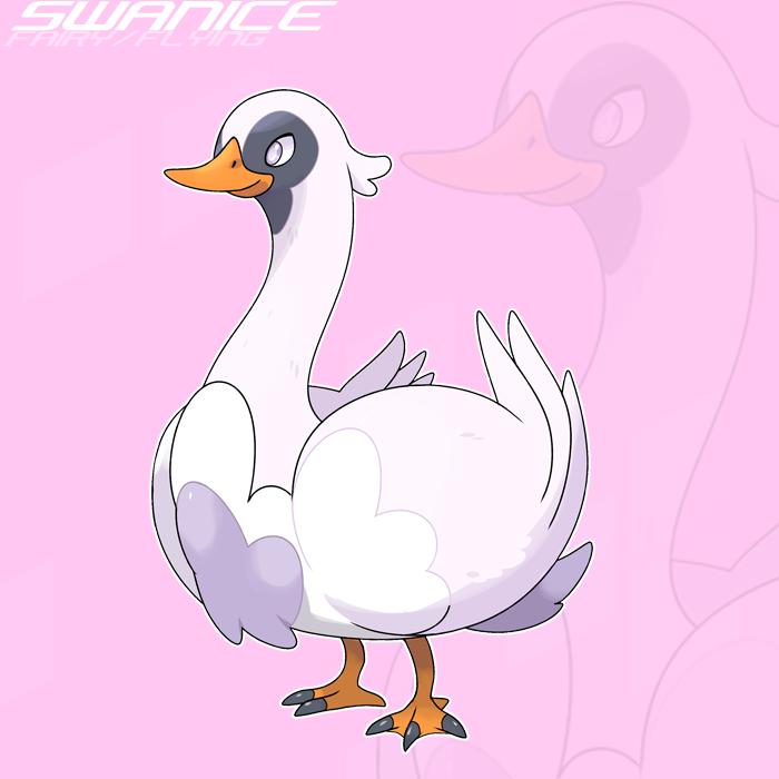 ??? Swanice by SteveO126