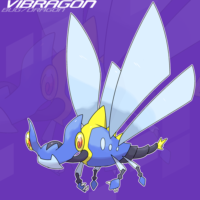 064 Vibragon by SteveO126