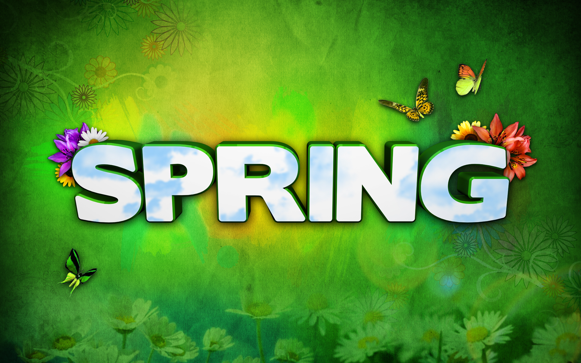 Spring Wallpaper by redrum201