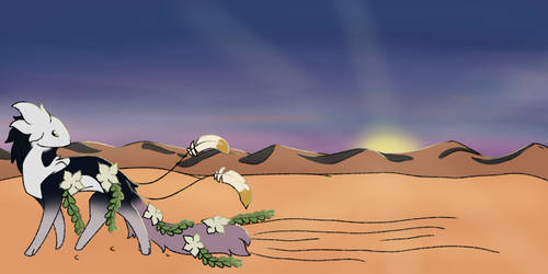 Lines in the sand (twwm banner) by Papertalons