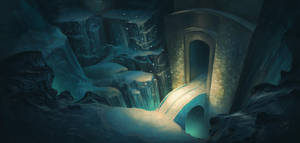 Ice Temple by CadeBennett