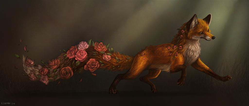 Garden Fox by kellaymarie