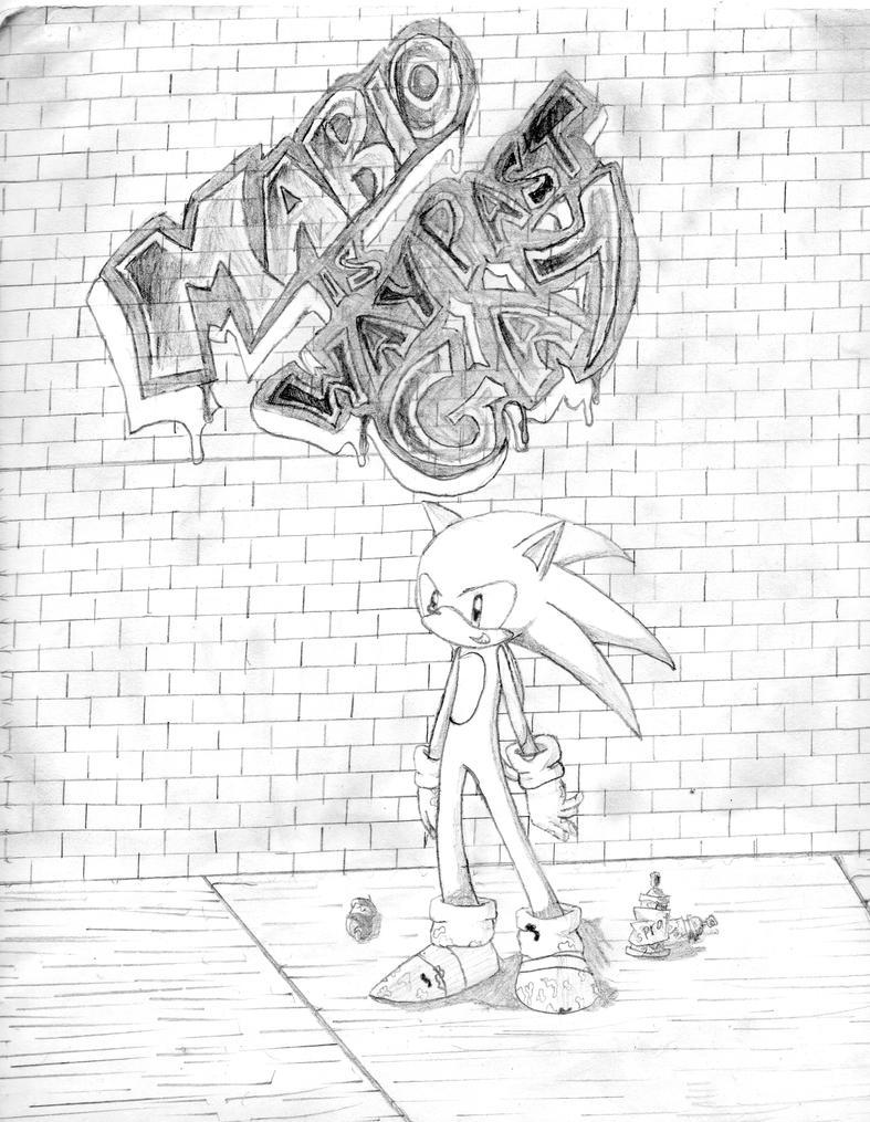 Sonic hates mario .:DuH:. by Hito-san
