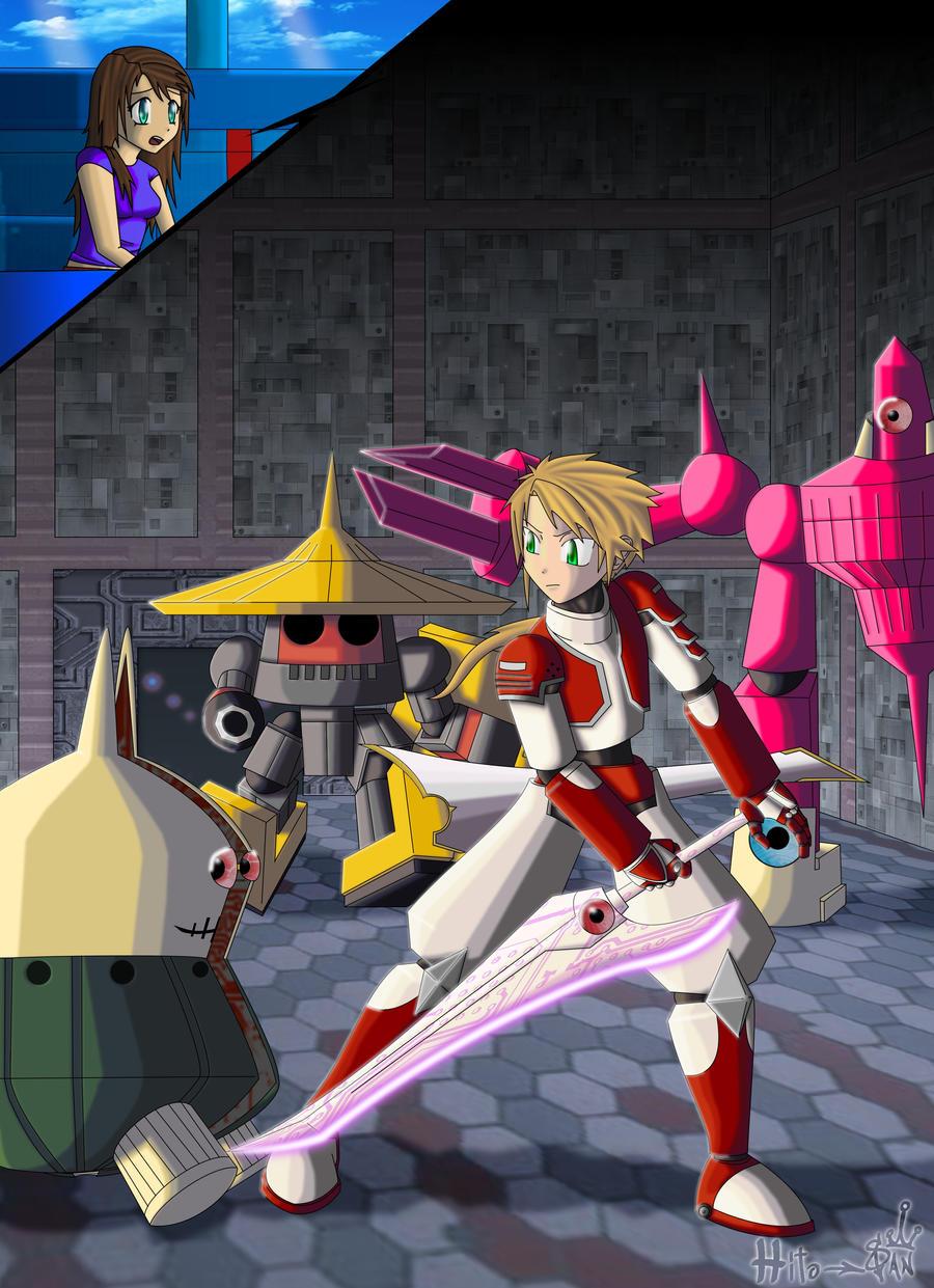 Megaman Chaos .:MMLC:..:CE:. by Hito-san