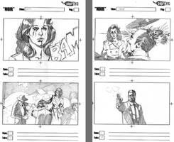 Storyboards - 'NOIR' by vitorgorino