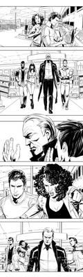 web comic bw by vitorgorino