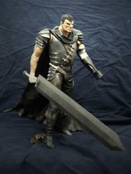 Berserk - Black swordsman statue by vitorgorino