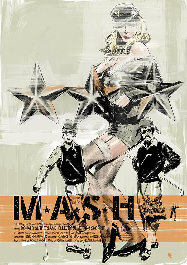 MASH 1070 - fan poster by vitorgorino