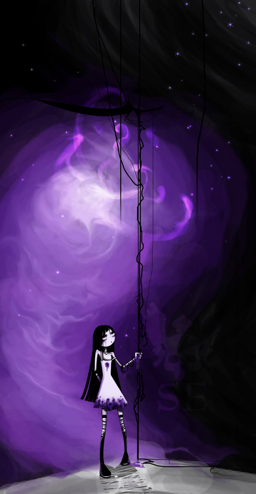 . nowhere . by SilentEve