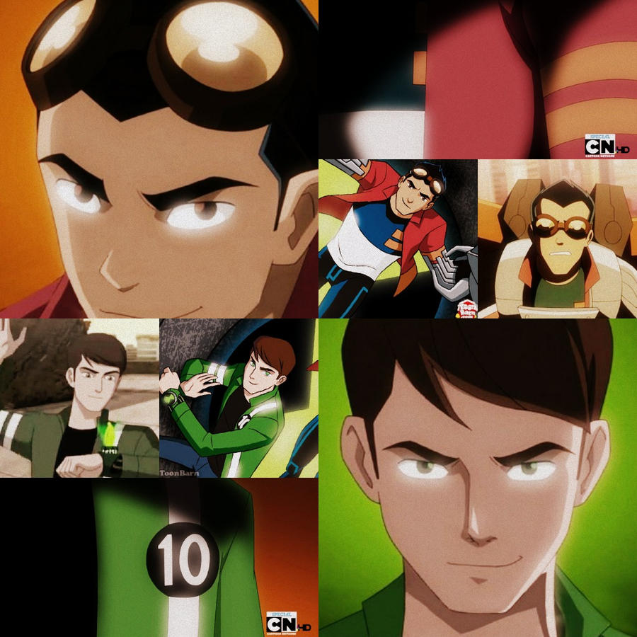 Ben 10 and Genarator Rex Heroes United by ElTigre1Latino