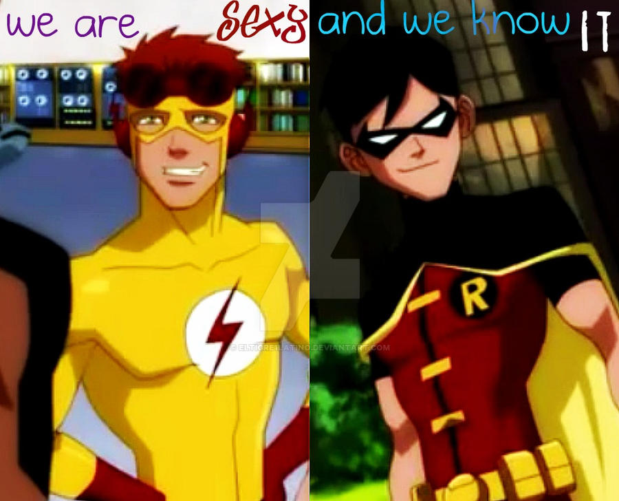 Robin and Kid Flash by ElTigre1Latino on DeviantArt
