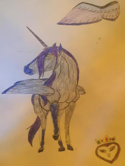 Female Alicorn by Sculcavant