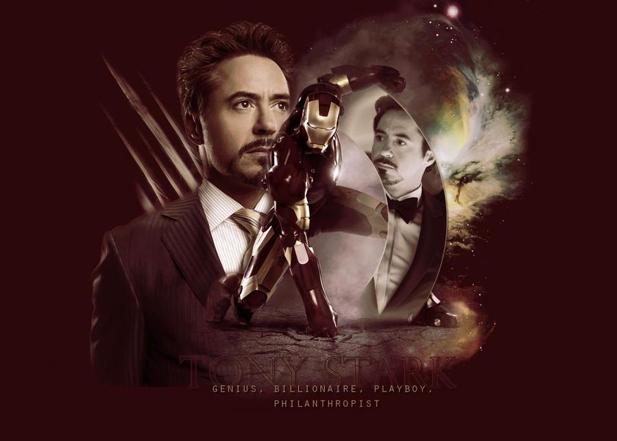Tony Stark by TheMeltingSun