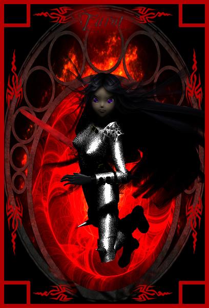 Tarot Ravenguard - Vampire by Youma-Ghost