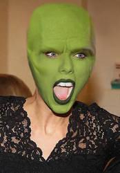 Taylor swift wears the mask  by Stevencdaniels