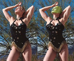 Brie Larson - the captain marvel mask by Stevencdaniels
