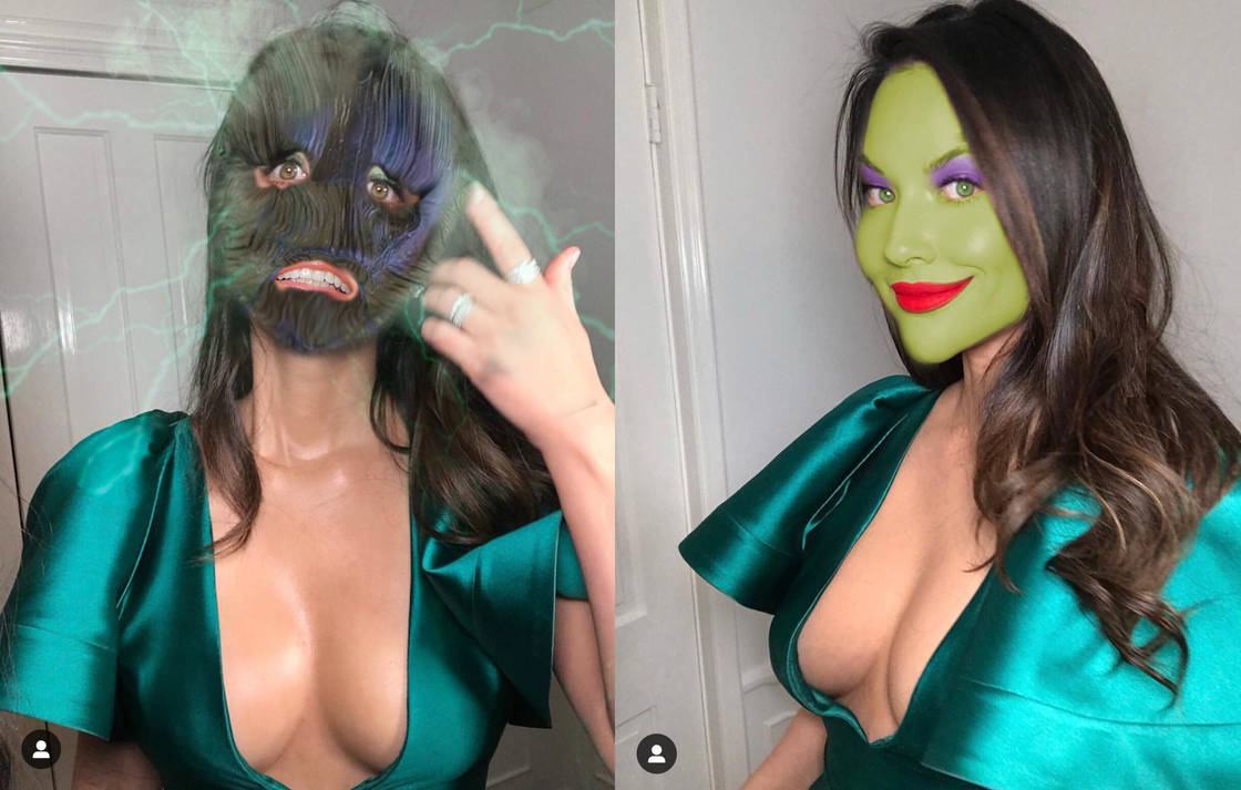 Olivia Munn gets masked  by Stevencdaniels