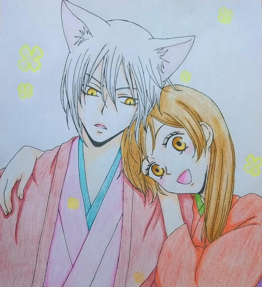 Nanami and Tomoe(Kamisam Hajimemashita) by Ethel106