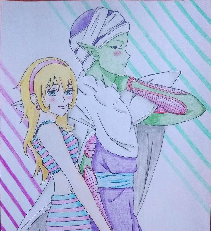 Piccolo and Azuri by Ethel106