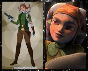 Star Wars Shaeeah Lawquane - AzaleasDolls