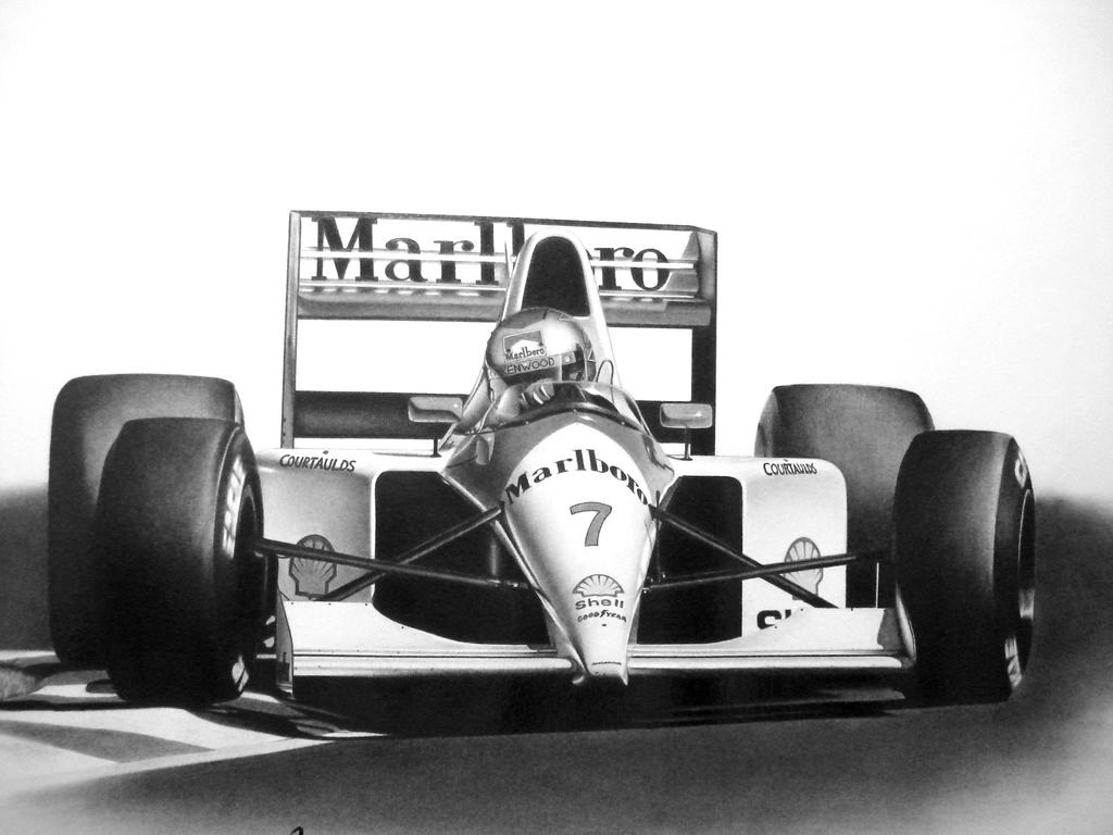 Michael Andretti F1 by Tellez-ART