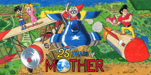 25 Years of MOTHER by kenisu3000