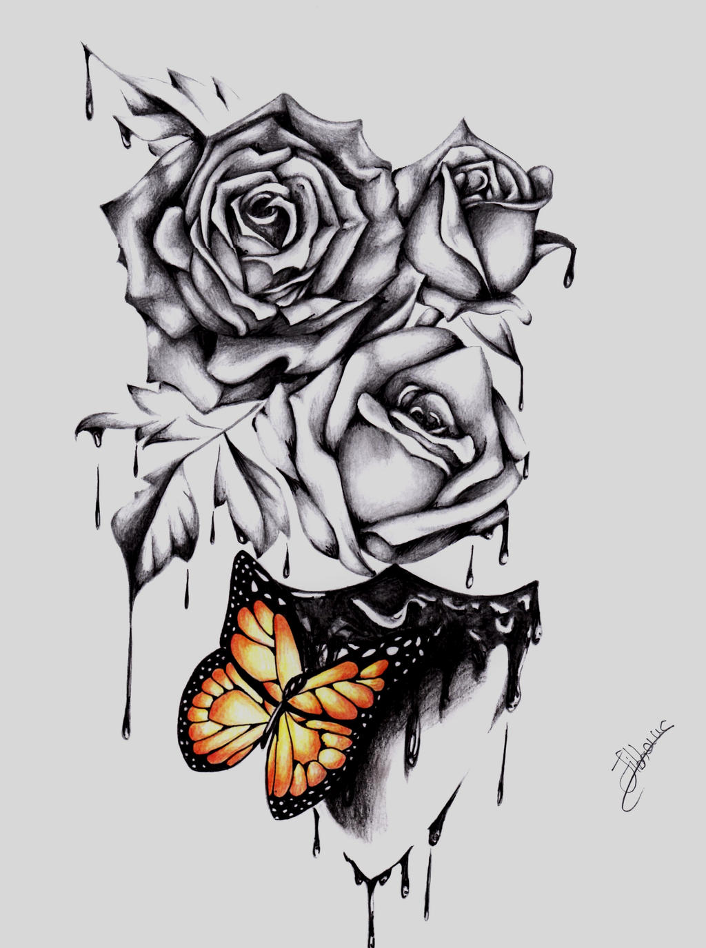 rose clipart black and white with Roses Tattoo Design 552794728 on Watercolor Floral Bouquet together with Rosa Parks Greg Joens also Statuette Flamant Rose H 27 Cm Flamingo 161377 together with Roses Tattoo Design 552794728 likewise 40 Free Printable Truck Coloring Pages Download.
