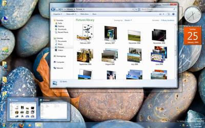 My Desktop - January 2009 by counteralchemist
