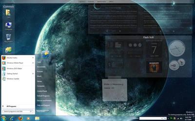 My Desktop - June 2009 by counteralchemist