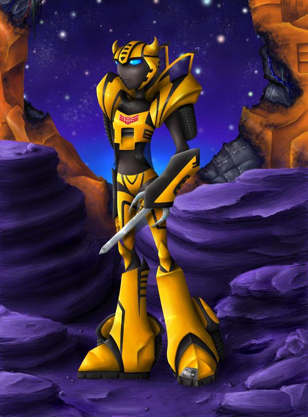 Bumblebee Prime by RaspberryBananaCreme