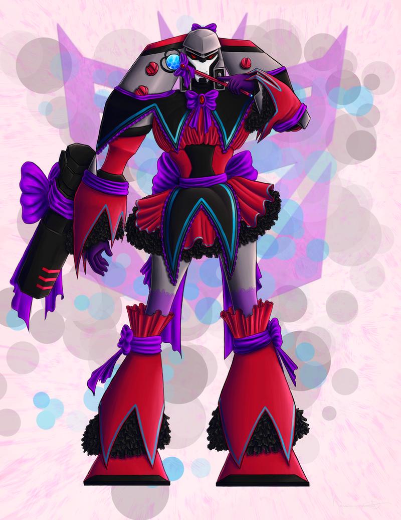 Magical Girl Megatron by RaspberryBananaCreme