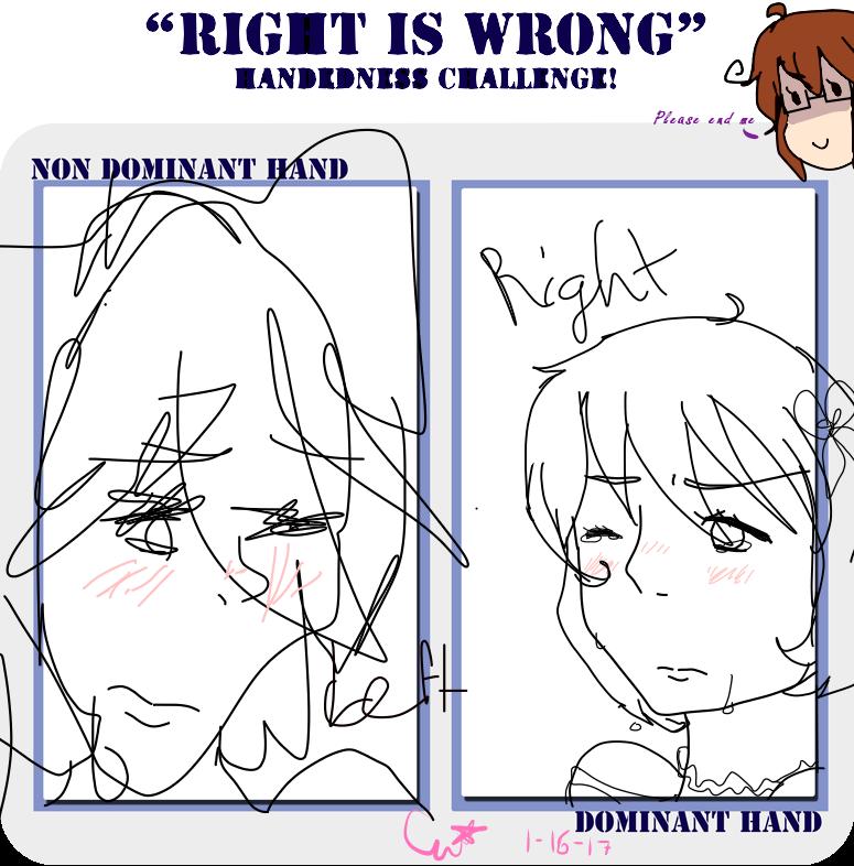 Dominat Vs Nondominant Hand Drawing Meme By Historyandpasta On - Hairstyle drawing meme